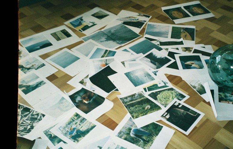 選ぶ・並べる作業は撮ることとは違う面白さがありました。