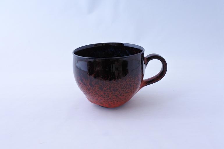 ★コーヒーカップ「黒炎」★