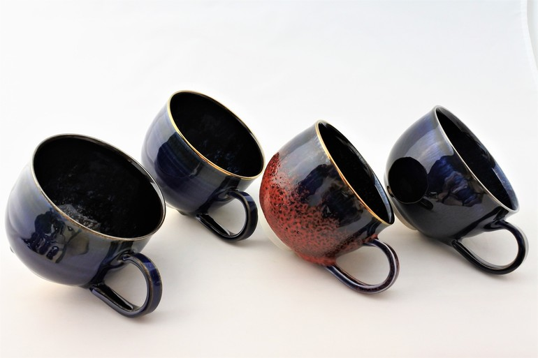 ★お好きなコーヒーカップのオーダーメイド(金彩・プラチナ彩)★