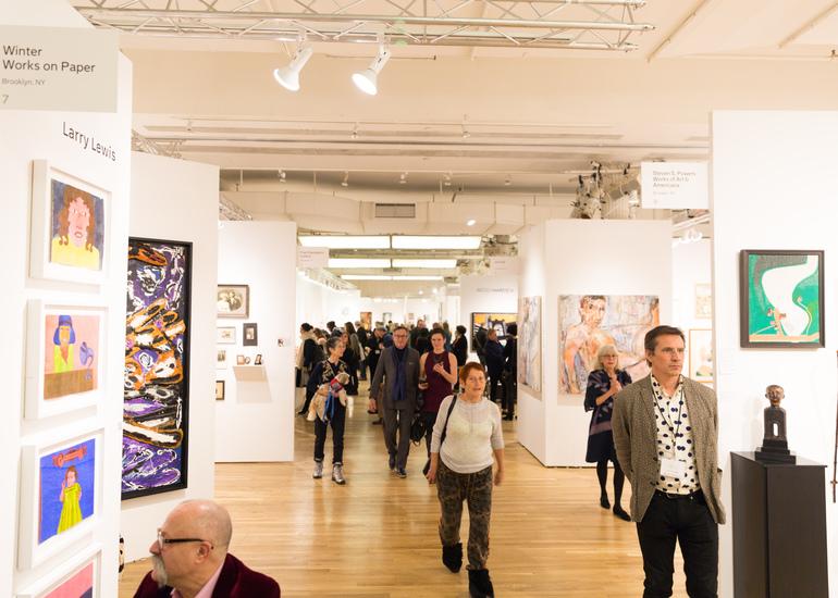 ニューヨークの「アウトサイダー・アートフェア」に初挑戦したい!