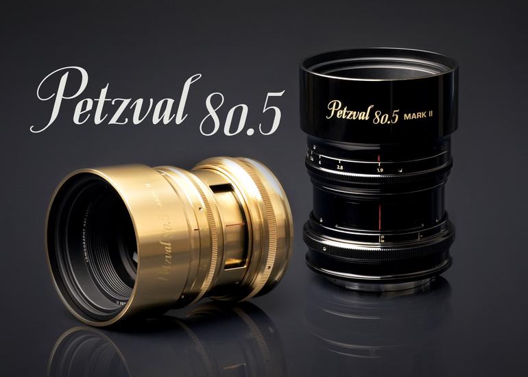 180年前の美しいボケを現代に復刻:Petzval 80.5 mm f/1.9 MKII