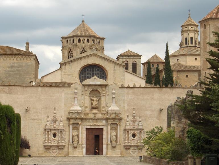 スペインカタルーニャ州のポブレー修道院