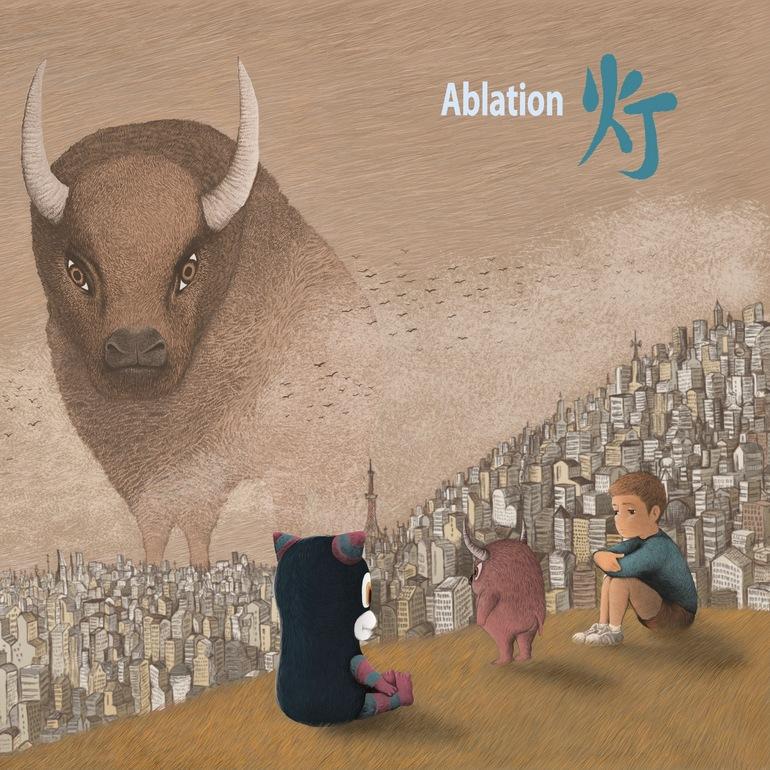 初めてのフルアルバム「Ablation」ジャケット